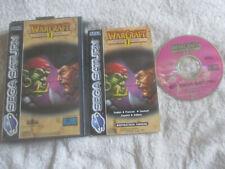 Warcraft II (2) The Dark Saga / CIB / Sega Saturn / PAL