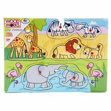 3-4 Years Puzzles Wooden Pre-School Toys