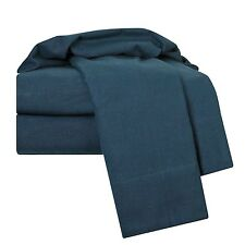 100% Egyptian Cotton Deep Pocket Flannel 4 Piece Bed Sheet Set