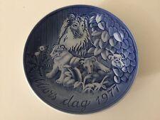"""Vintage Grande Danica Denmark Mors Dag 1977 Plate, 6 1/4"""" Diameter"""