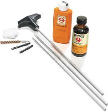 Hoppes 22, 223 Rifle Cleaning & Lubrication Aluminum Rod Patches Brush Kit