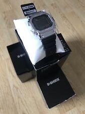 Casio G-shock GMW-B5000-1 Plata Full Metal Square Resina Banda Japón Ltd