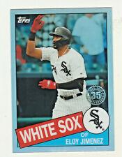 2020 Topps Chrome1985 RETRO 35th ANNIVERSARY ELOY JIMENEZ Chicago White Sox