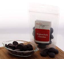 Belgian Dark Chocolate Discs (200g)