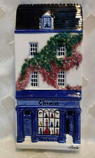 Hazle Ceramics A Nation Of Shopkeepers The Chemist Wall Plaque from England Rare
