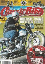 British Twins Buyer's Guide #2  Enfield Triumph Norton Ariel 9/2011 Classic Bike