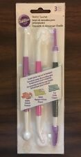 Wilton Cake Decorating Tool Set 3 Pc Fondant Gum Paste New In Sealed Package