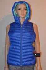 New Spyder Timeless Down Puffy Vest Blue Women's Size S MSRP $159