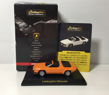 1/64 Kyosho LAMBORGHINI Silhouette Diecast Car Model Orange