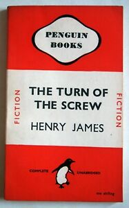 THE TURN OF THE SCREW / HENRY JAMES / PBK 1st PENGUIN EDITION / 1946