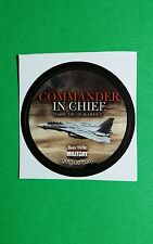"""COMMANDER IN CHIEF INSIDE THE OVAL OFFICE  TV GETGLUE GET GLUE SMA 1.5"""" STICKER"""
