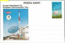 TURKISH CYPRUS   Türk Cumhuriyeti - POSTAL STATIONERY CARD 1968 - COMMUNICATION