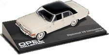 CL04 Opel Diplomat V8 Limousine 1964 1/43 Scale White/Black New in Display Case