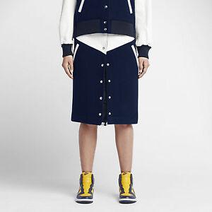 Nike NikeLab Women's Leather and Wool Windrunner Skirt  Save $300!   Medium