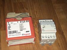 Réf 412553 Legrand CONTACTEUR PUISSANCE BOBINE 4P 40A  230V NEUF