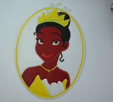 PRINCESS TIANA FROG NAVEEN Embroidered Iron Sew On Cloth Patch Badge  APPLIQUE
