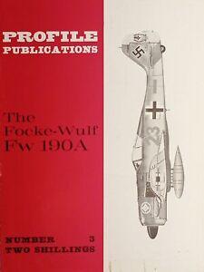 Aeronautica - Profile Publications N. 3 - The Focke-Wulf Fw 190A - 1966