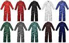 Mens Dickies Redhawk WD4839 Or Regatta Zip Front Coveralls Overalls Boiler Suit