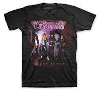 New Cinderella Band Night Songs Album Glam Metal Shirt (SML-2XL) badhabitmerch