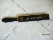 WW1 British Army Razor Knife and Scalpel Sharpener - The Army Strop