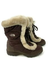The North Face 551044 Women's 8.5 39.5 Winter Quilted Nylon Insulated Snow Boots