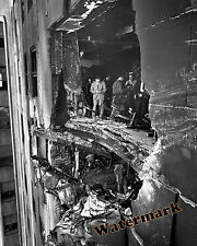 Photograph New York Empire State Building  B-25 Airplane Crash 1945  8x10