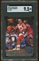 1992-93 Fleer Ultra All-NBA Insert #7 Charles Barkley  SGC 9.5 = PSA 10? SP