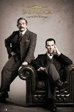 SHERLOCK ~ VICTORIAN PORTRAIT 24x36 TV POSTER BBC NEW/ROLLED!