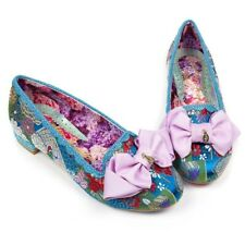 Irregular Choice Sulu (S) Blue Slip On Flat / Low Heel Shoes