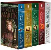 George R. R. Martin's A Game of Thrones 5-Book Boxed Set Song of Ice and Fire