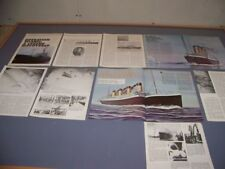 """VINTAGE..RMS TITANIC """"DISCOVERED"""" HISTORY..HISTORY/DETAILS/PHOTOS..RARE! (133N)"""