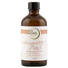 BIO Schwangerschaftspflegeöl BIOMOND / 100 ml / gegen Dehnungsstreifen / Massage