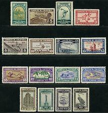 Kolumbien Colombia 1935 Barranquilla Olympiade Condor Sport Sports 351-66 MNH 13