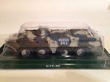 FABBRI i carri armati russi raccolta sovietica BTR-80 98 Airbourne DIV KFOR 1:72