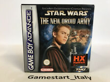 STAR WARS THE NEW DROID ARMY - NINTENDO GAME BOY ADVANCE GBA - VIDEOGIOCO NUOVO