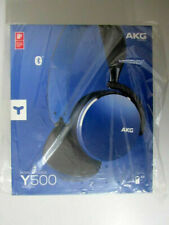 Original AKG Y500 Wireless Bluetooth On-Ear-Kopfhörer Blau Blue NEU