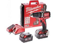 MILWAUKEE TRAPANO A PERCUSSIONE 2 BATTERIE 5.0AH  M18BLPD-502C Brusshless