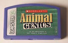 "LeapFrog Leapster ""Scholastic Animal Genius"" ~ Cartridge Only"