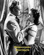VIVIEN LEIGH & LESLIE HOWARD 8x10 B&W Lab Photo GWTW GONE WITH THE WIND Hug