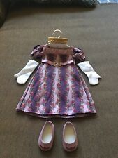 "American Girl CAROLINE HOLIDAY GOWN  Purple Christmas Outfit for 18"" Dolls"