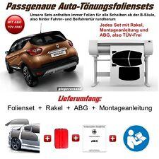 Passgenaue Tönungsfolie Audi A4 Avant / Kombi Modell B6 2000-2004 tiefschwarz 5%