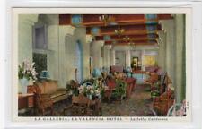 LA GALLERIA, LA VALENCIA HOTEL, LA JOLLA: California USA postcard (C30182)