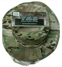 MULTICAM BOONIE HAT XL 61-62CM 100% RIPSTOP COTTON DOUBLE THICKNESS BRIM SPEC OP