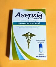 Asepxia capsules Acne Treatment Prevents Blackheads 30 Caps Pimples Excess Oil