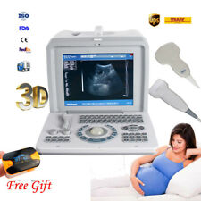 New listing Portable Ultrasound Scanner Machine Medical Equipment Convex+Linear+3D Fda Ce