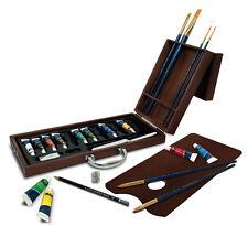 Artista Premier Deluxe Paleta de Pintura de acrílico & Juego De Brochas Estuche de madera ACR2020