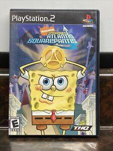 SpongeBob's Atlantis SquarePantis (Sony PlayStation 2, 2007)