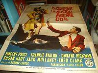 Dr.Goldfoot And The Our Agente 001/4 Manifesto 2F Original 1965 V. Price
