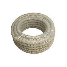 Rotolo tubo spiralato atossico mm 40 in pvc adatto per liquidi alimentari 25 Mt