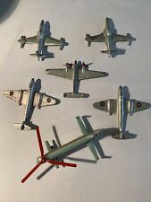 Vintage Dinky Toy Airplanes Made In England by Meccano Ltd